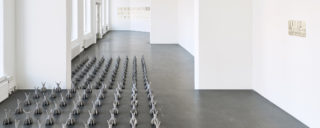 Näkymä Sanna Korteniemen näyttelyyn. Kuva: Titus Verhe
