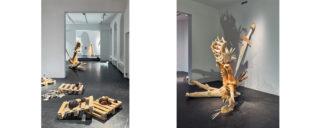 Näkymiä Maija Helasvuon Jättömaan uni -näyttelyyn ©Titus Verhe